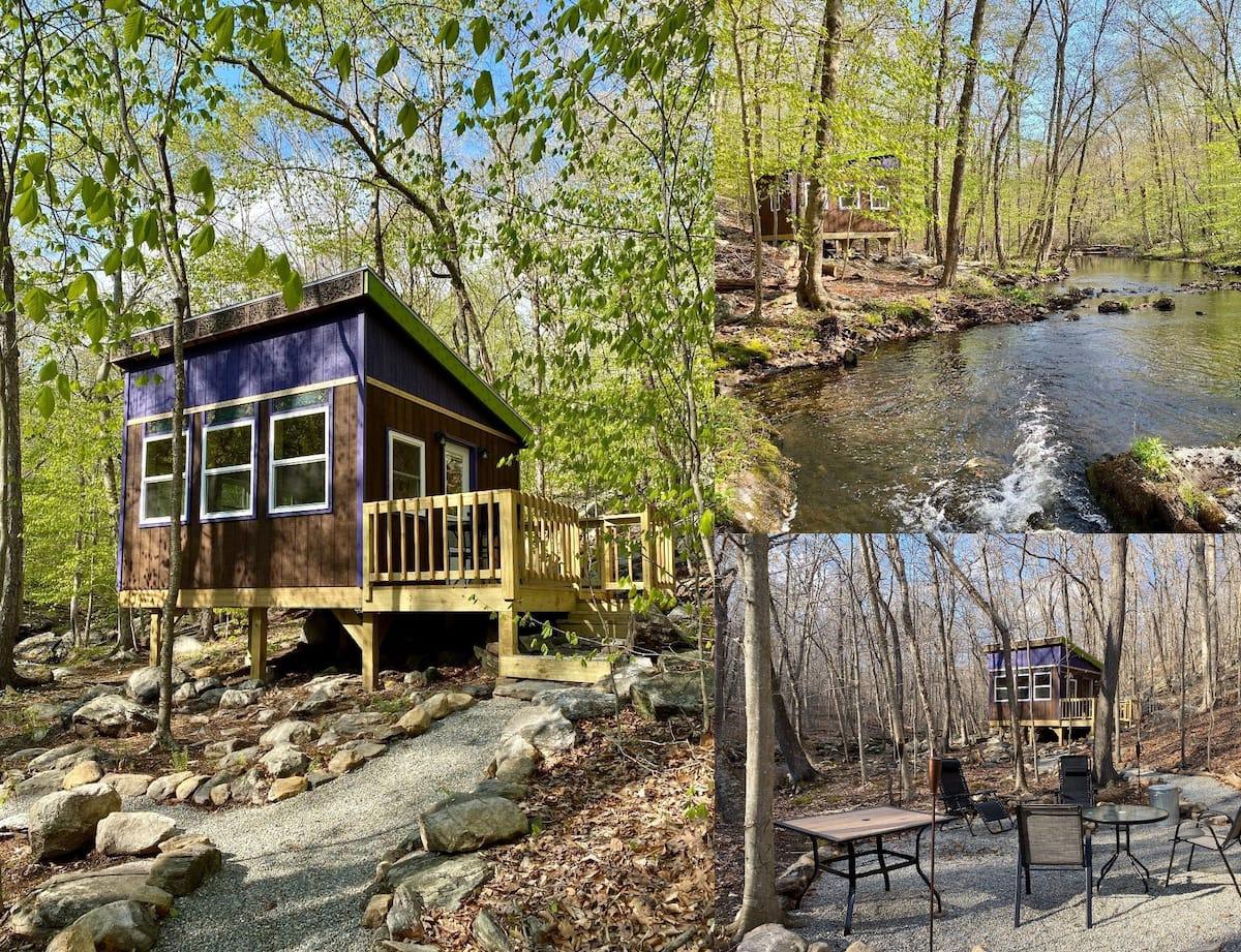 Tiny Tree House Cabin Airbnb