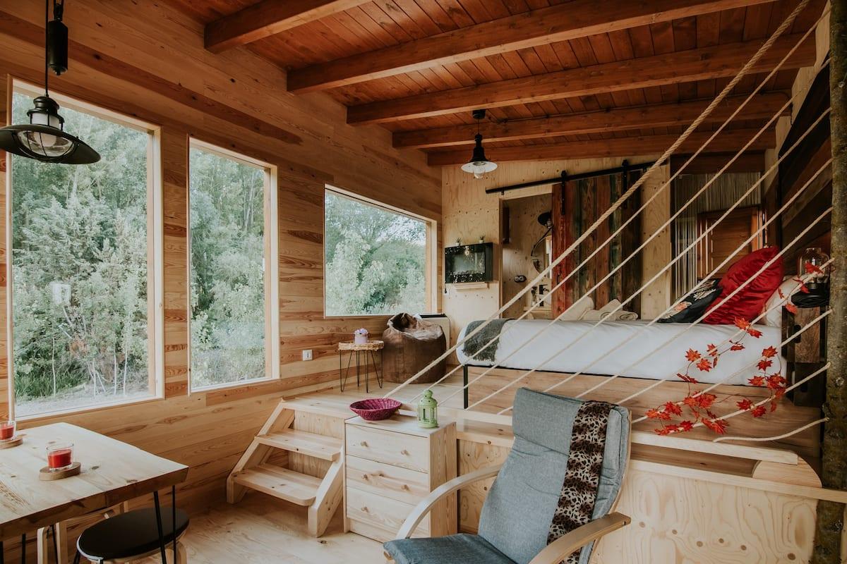 Treehouses in Spain La Rioja Modern