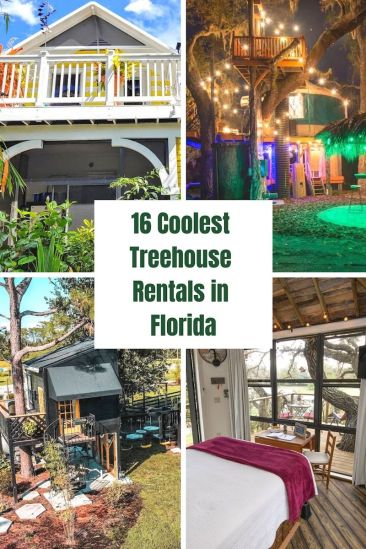 16 Coolest Treehouse Rentals in Florida