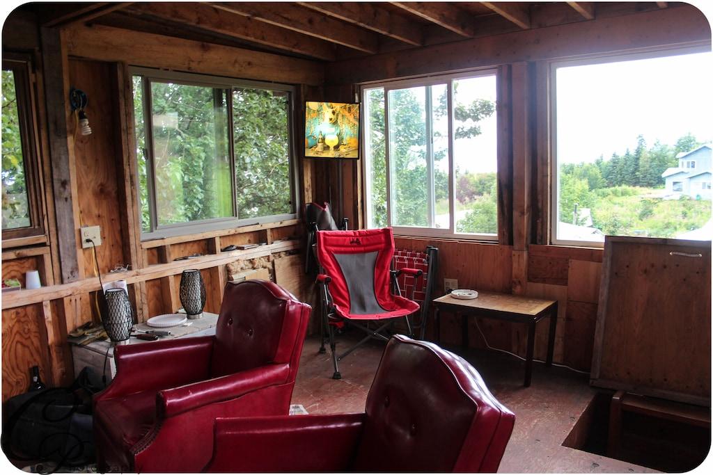 Homer Alaska Treehouse Vacation Rental
