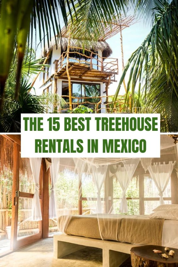 Coolest Treehouse Rentals in Mexico
