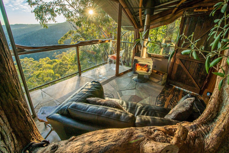 Treehouse Blue Mountains Airbnb Australia