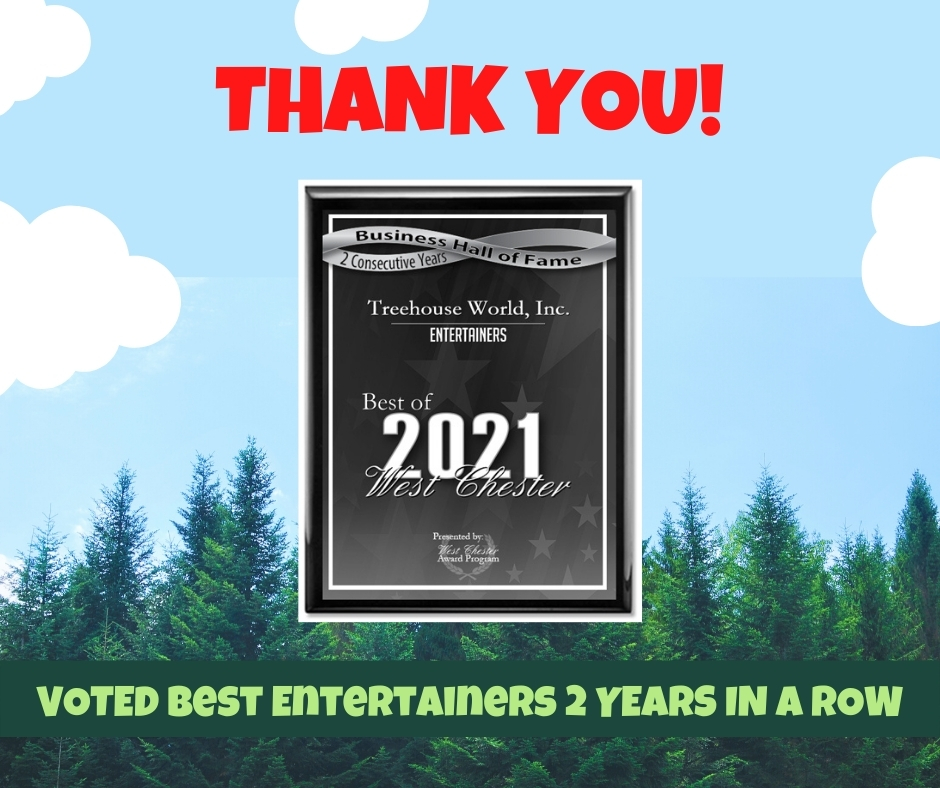 Voted Best Entertainer 2021 in West Chester, PA
