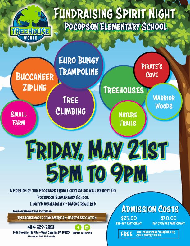 Fundraiser Event Flyer_Pocopson Elementary School