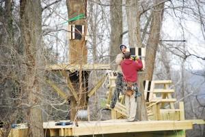 Zipline Belay Line Construction