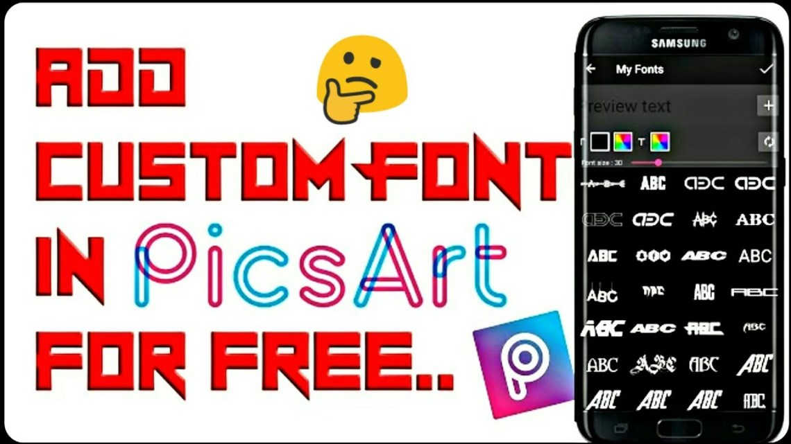 Download Picsart Fonts Free - treelasvegas