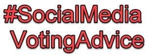 #SocialMediaVotingAdvice