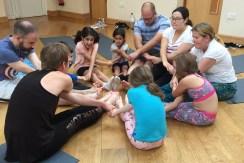 yoga family children child school mindfulness