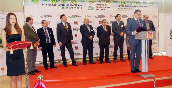 Компания «ТРИМАРКЕТ» приняла участие в выставке «Деревянное домостроение», проводимой на ВВЦ 21-24 марта 2013 года.
