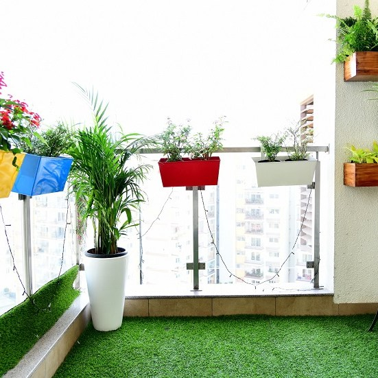 Balcony With Garden