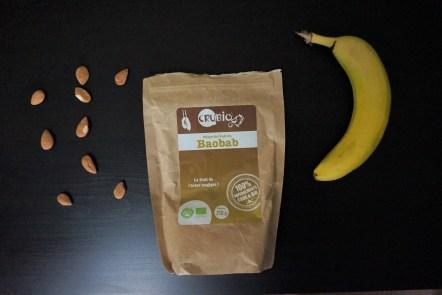 Treeninglife - vegan poudre de baobab force musculation complément santé végétarien