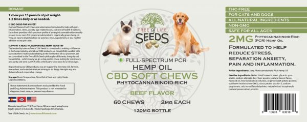 CBD Oil Pet Chews Pet Drops Dogs Cats