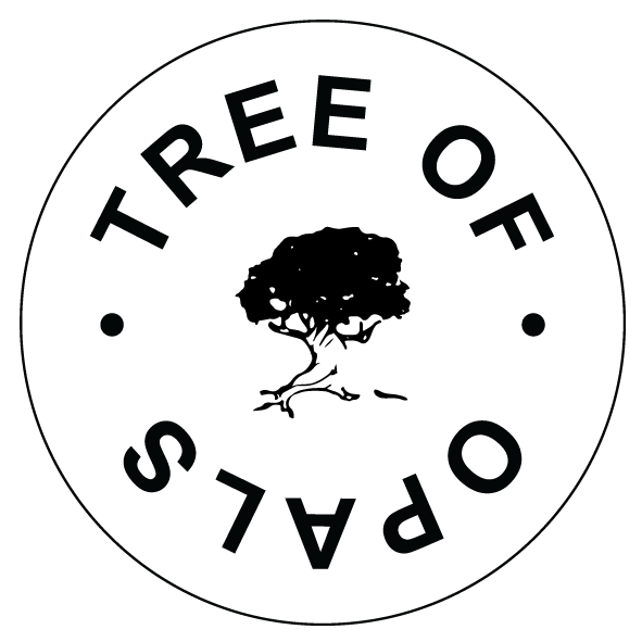 Tree of Opals sustainable keepsake jewellery logo