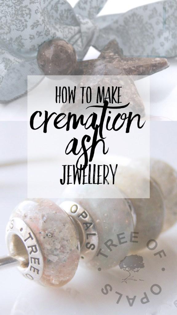 how to make cremation ash jewellery blog by Nikki Kamminga