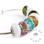 set of eight charm beads from Tree of Opals