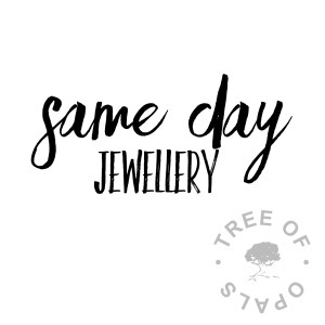 same day jewellery service for keepsake pieces from Tree of Opals