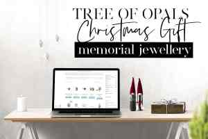 Christmas Gift Memorial Jewellery 2019 from Tree of Opals - deadlines for ordering and return of kits