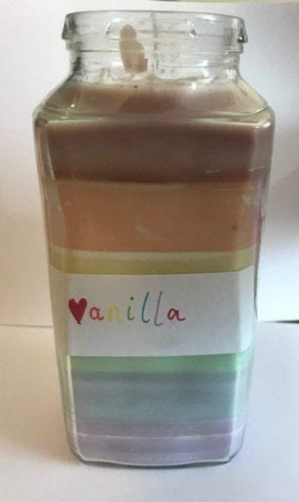 vanilla pride candle