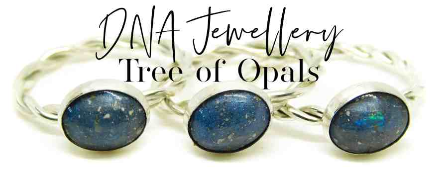 DNA Jewellery by Tree of Opals
