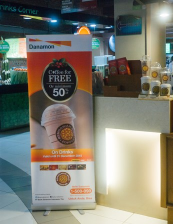 Bengawan Solo Coffee outlet in Kalibata City