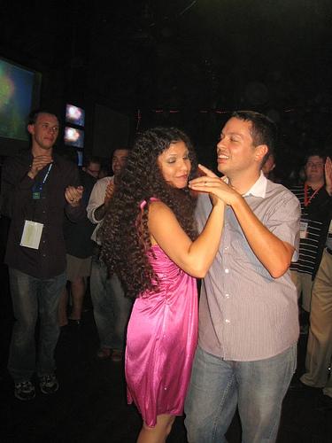 Markos & Elisa dancing Sat night