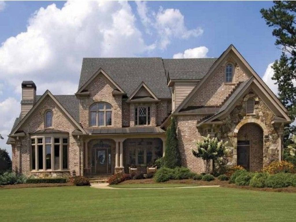 Brick House Exterior Designs Brick French Country House
