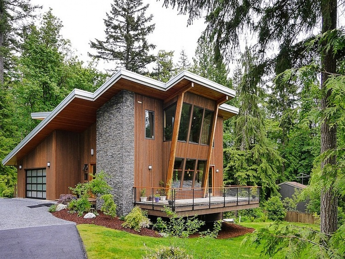 Small Modern Mountain Homes Modern Mountain Cottage, Best