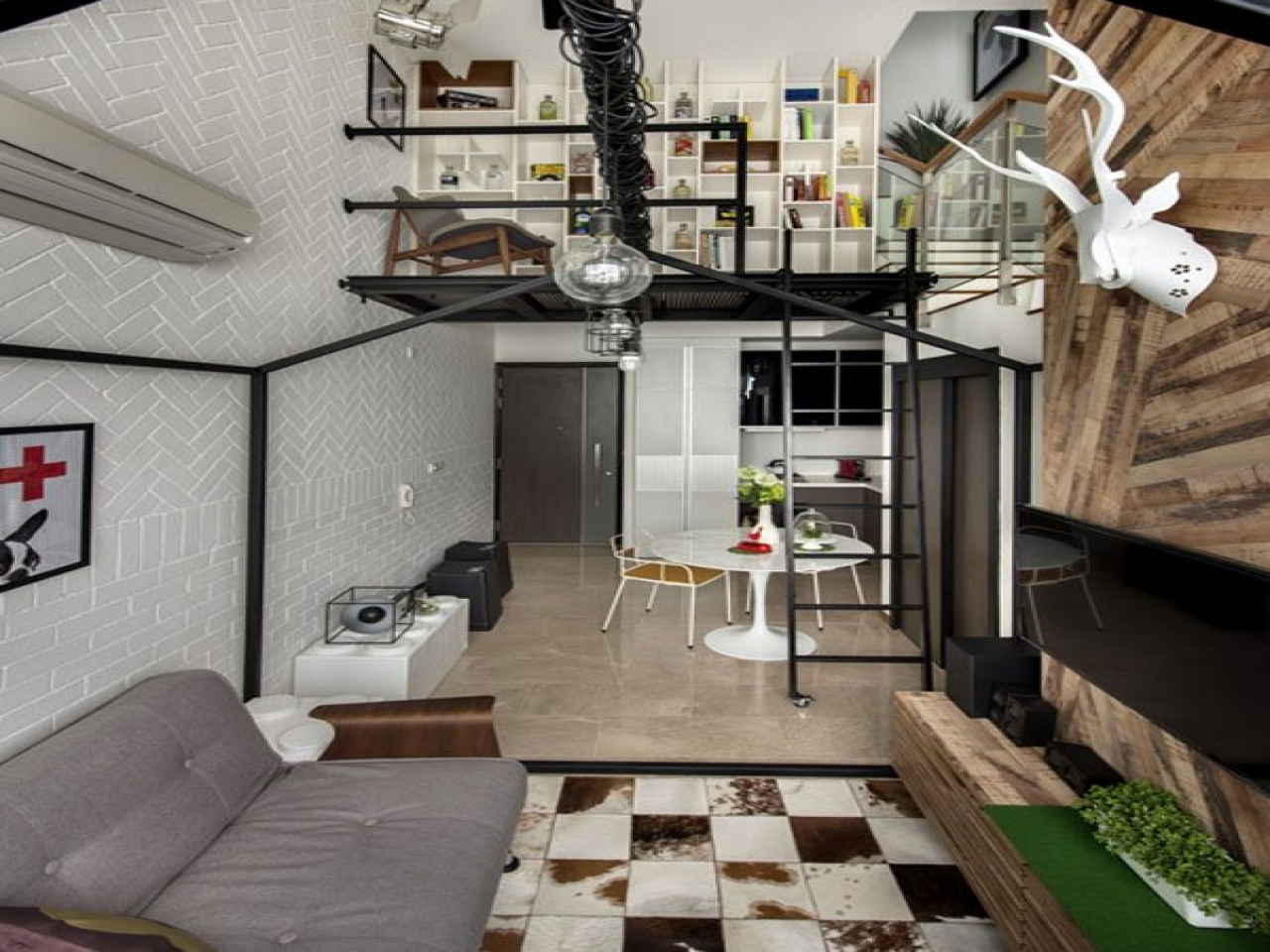 Loft Ladders For Small Spaces Small Loft House Designs