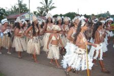 2013 Easter Island Festival; The Floozies, Moai Broadcast, Nadis Warriors