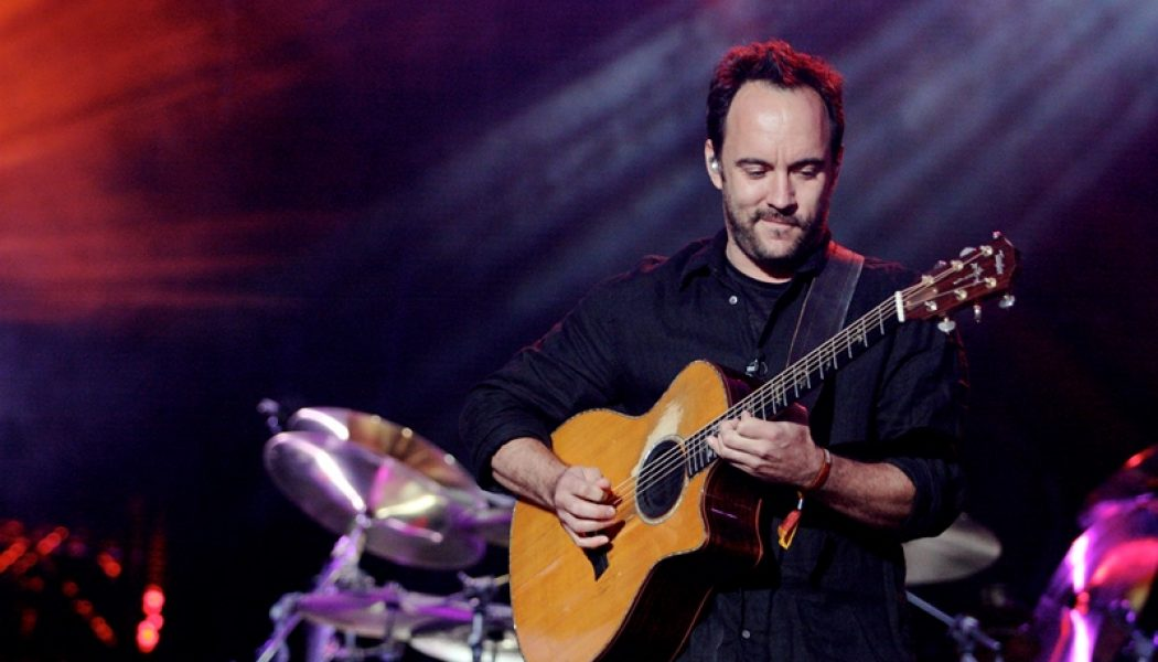 Dave Matthews, The Fray And More Confirmed For Flood Benefit Concert