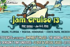 Jam Cruise 2015 Lineup Tokens