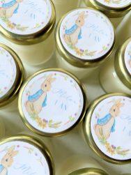 Mini bougie étiquette Roger Rabbit à offrir