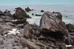 ...stony beaches...
