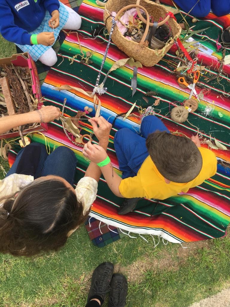 Tree Creatures weaving workshop