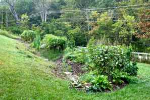 Swale with food forests