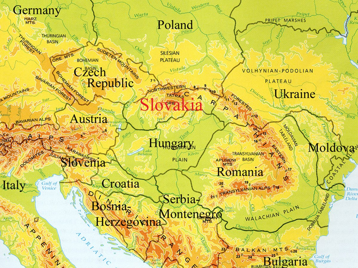 A Network Connection Travels East To Slovakia For A