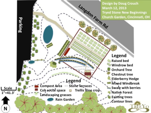 Permaculture Design from TreeYo Permaculture- Urban Food Desert Elimination in Bond Hill