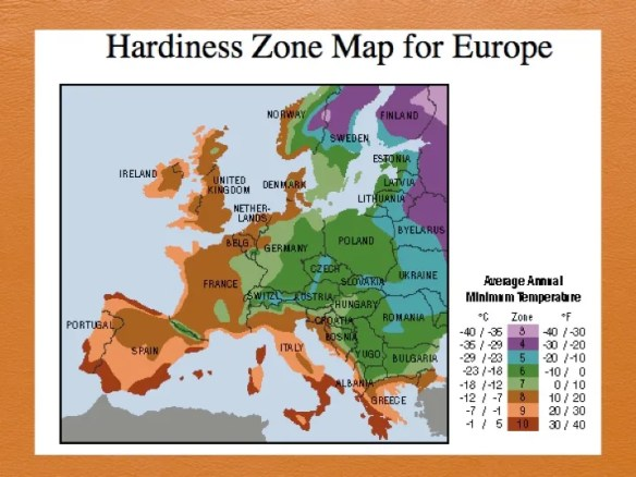 Climate Zone Map Of France.Climate Analog And Map Resources Permaculture Design Course Handbook