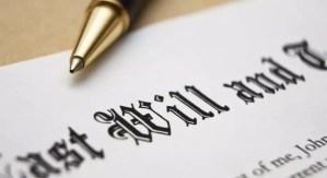 Will and Estate Planning document