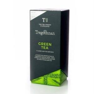 Green Loose Leaf Tea Caddy 14 Individual Servings