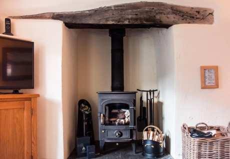 Riverside Cottage Fireplace