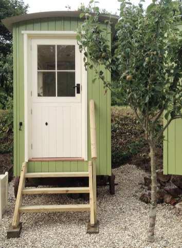 Shepherds Hut Outdoor Toilet