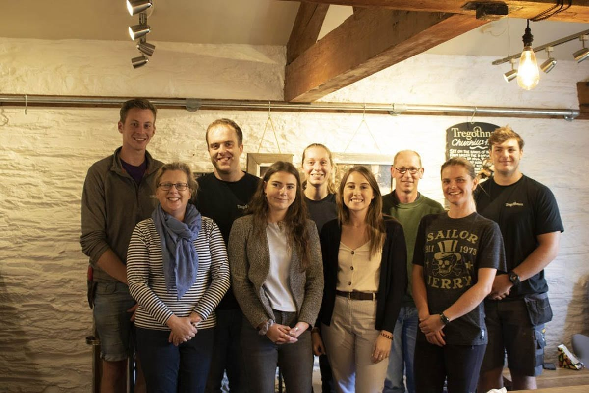 A warm welcome to the new Tregothnan Apprentices including an Events, Joiner, Procurement, Horticulture and Equine Apprentice.