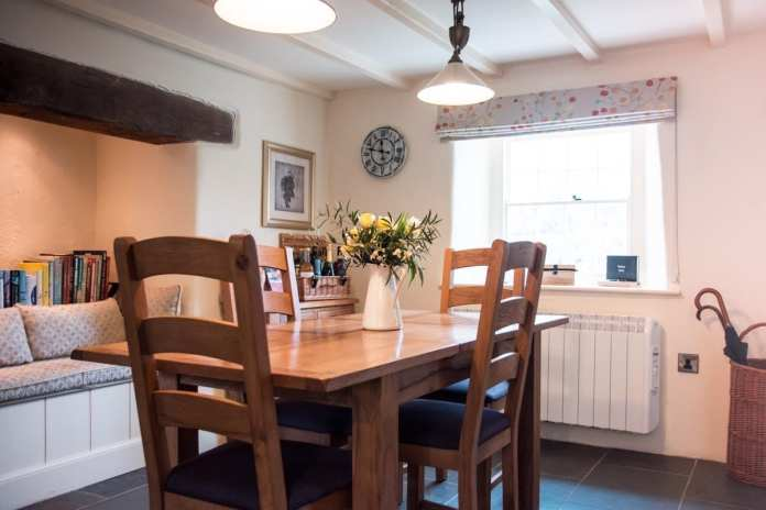 Turn-a-Penny Cottage Dining Area