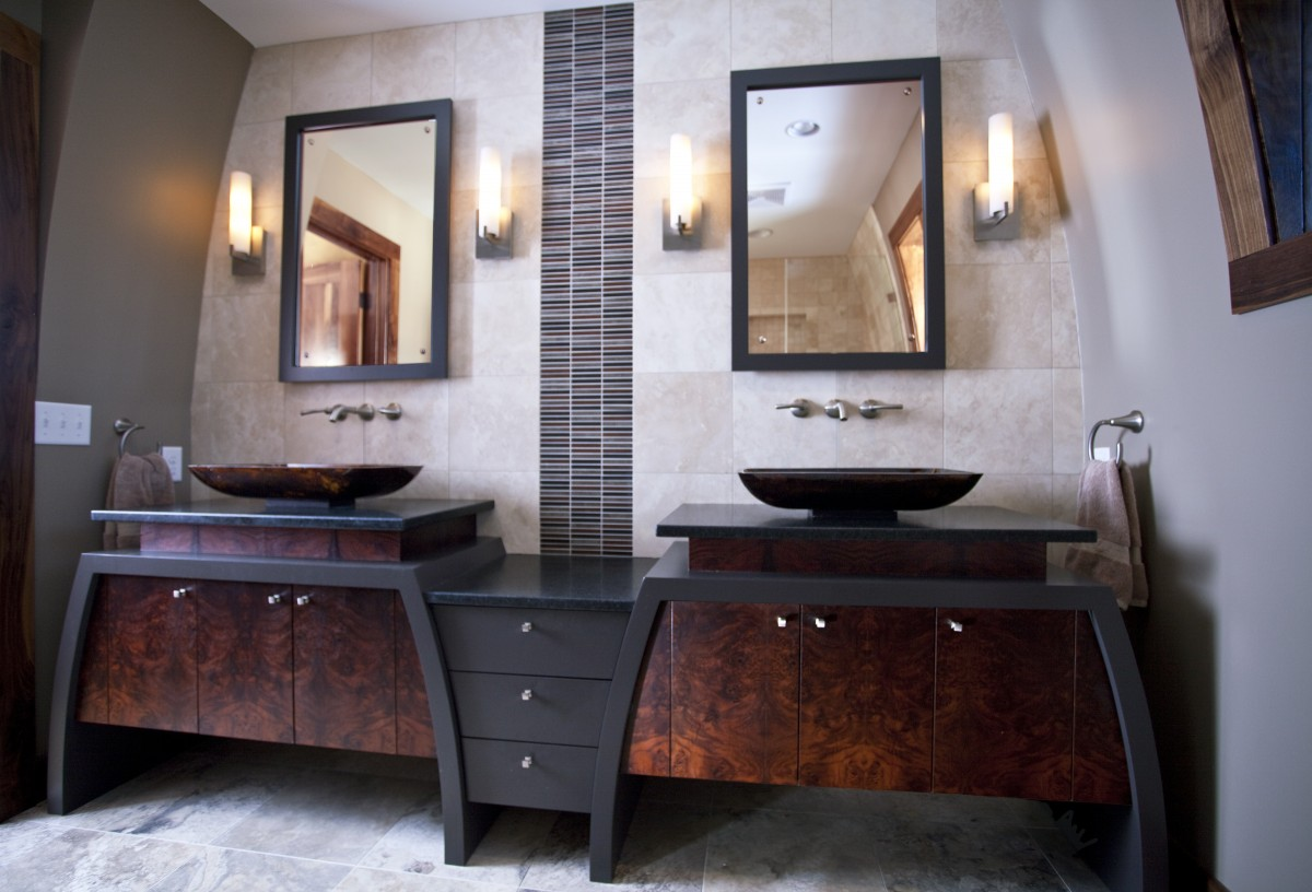 Unique Master Bath Trehus Architects