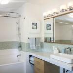 Midcentury Modern Bathroom Remodels Trehus Architects