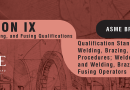 imagem do Curso ASME IX - Qualificação de Soldagem