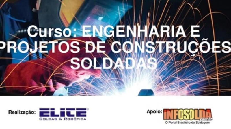 Curso Engenharia e Projetos de Construções Soldadas Regular EM CONTAGEM/MG