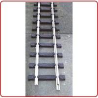 Thiel Flexibel rails 275 cm lang nikkel