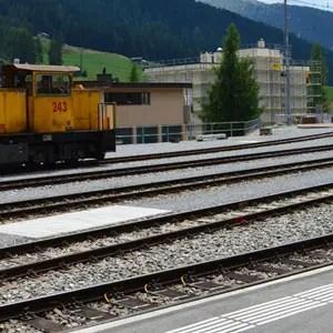 Messing rail